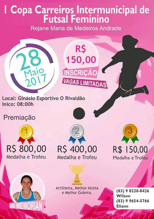I Copa Carreiros de Futsal Feminino