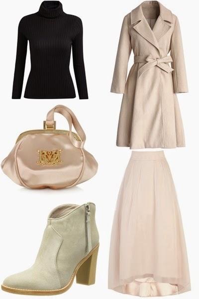 Moda de rua - look do dia- Conjunto em rosa, creme e preto
