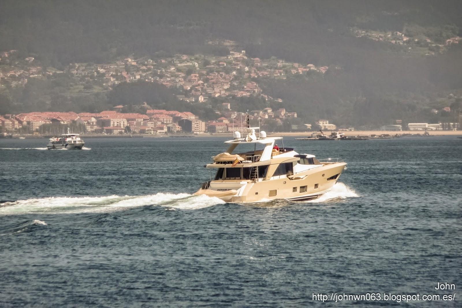 fotos de barcos, imagenes de barcos, ocram dos, couach, vigo, megayate