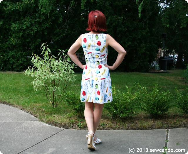 Sew Can Do: Dressmaking From A Free Dress Pattern & Saving ...