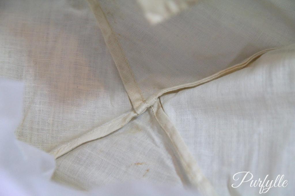 seam stitching 1927 underwear
