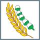 Simbol Sila kelima Pancasila Padi dan kapas
