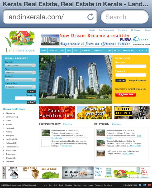 Present Kerala Land Registration Procedure For Nris Kerala Real