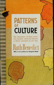 the work of ruth benedict Ruth fulton benedict (june 5, 1887 – september 17, 1948) was an american   an anthropologist at work: writings of ruth benedict, ed.