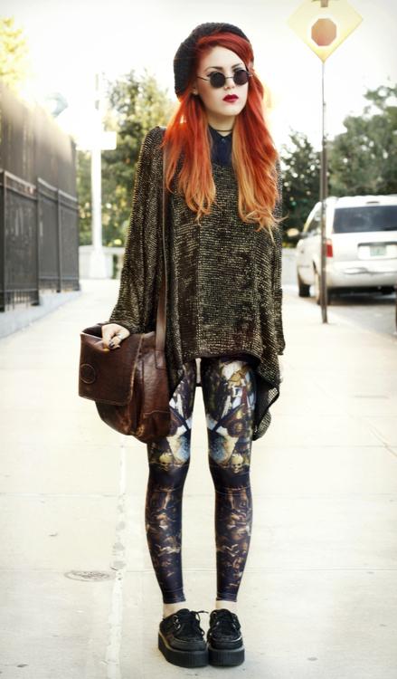 The Bag Girl Be Inspired Glam Grunge