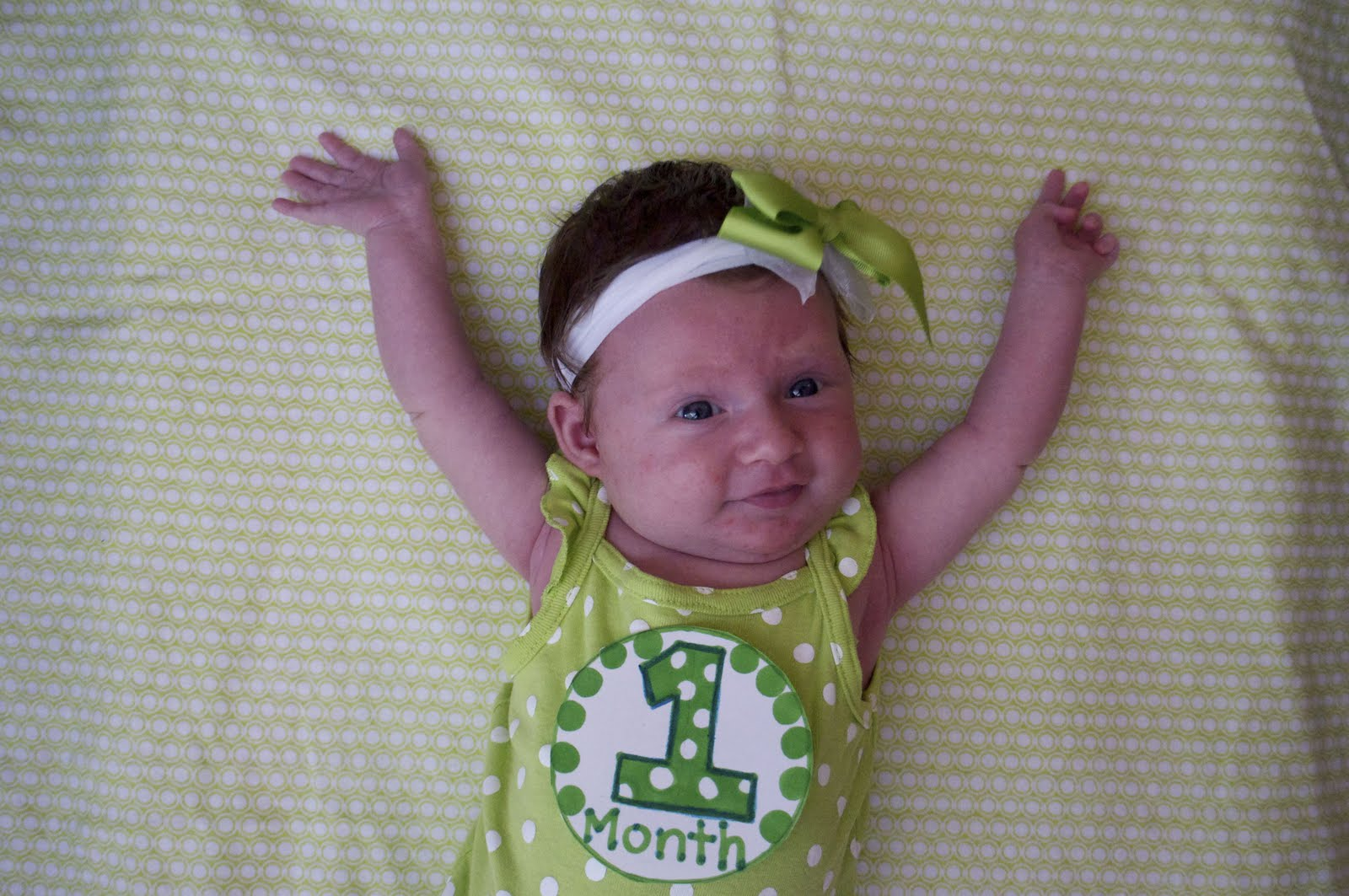 The Lentz S One Month Old