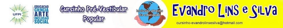 """Portal do Cursinho Pré-Vestibular Popular """"Evandro Lins e Silva"""""""