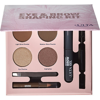 ULTA's Brow Shaping Kit for the holiday by barbies beauty bits