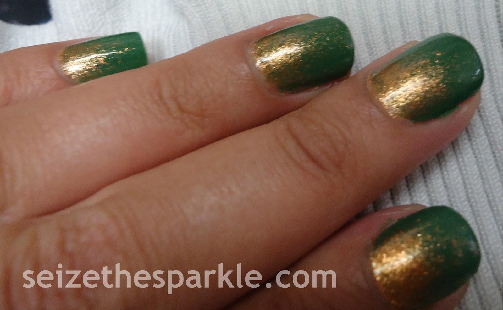 Jessie's Girl Penny Arcade Pigment Gradient Manicure