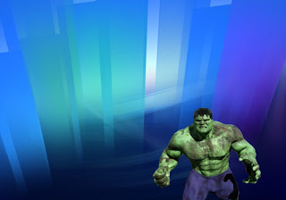 Hulk Free Posters Wallpapers Green Monster Fighting Position in Classic Crystal Landscape background