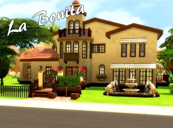 Sims 4 Mediterranean House