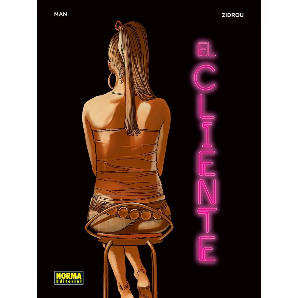 el cliente comic zidrou man norma editorial