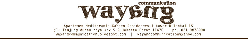Wayang Communication Agency