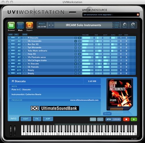 UVI Workstation