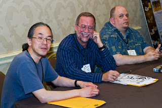 Ted Chiang, Bradley Denton, Mark Finn, Armadillocon 36