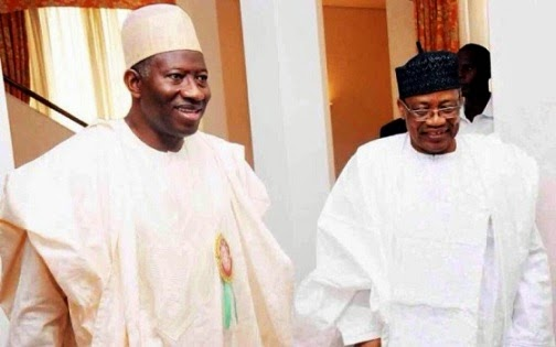 General Babangida With President Jonathan