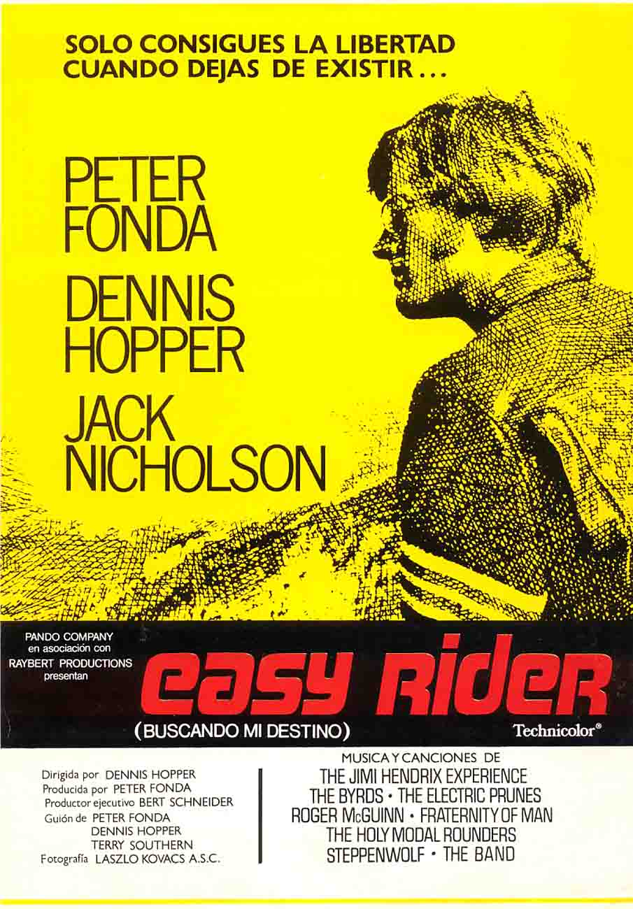 ElCINEquehevistoyo Easy Rider Easy Rider Movie Poster