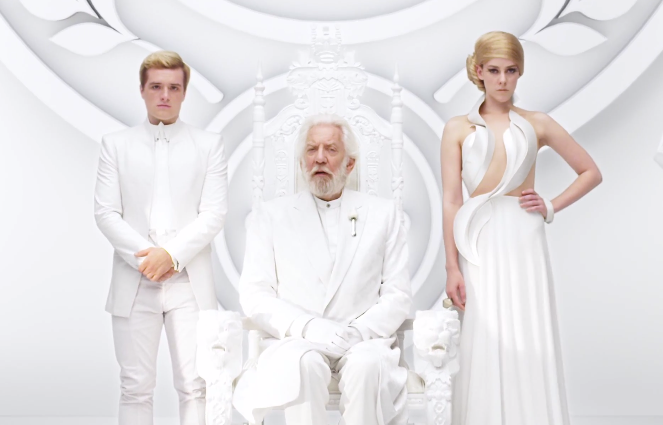 "New Mockingjay Part 1 Teaser Trailer HD ""Unity"" The Mockingjay Lives"
