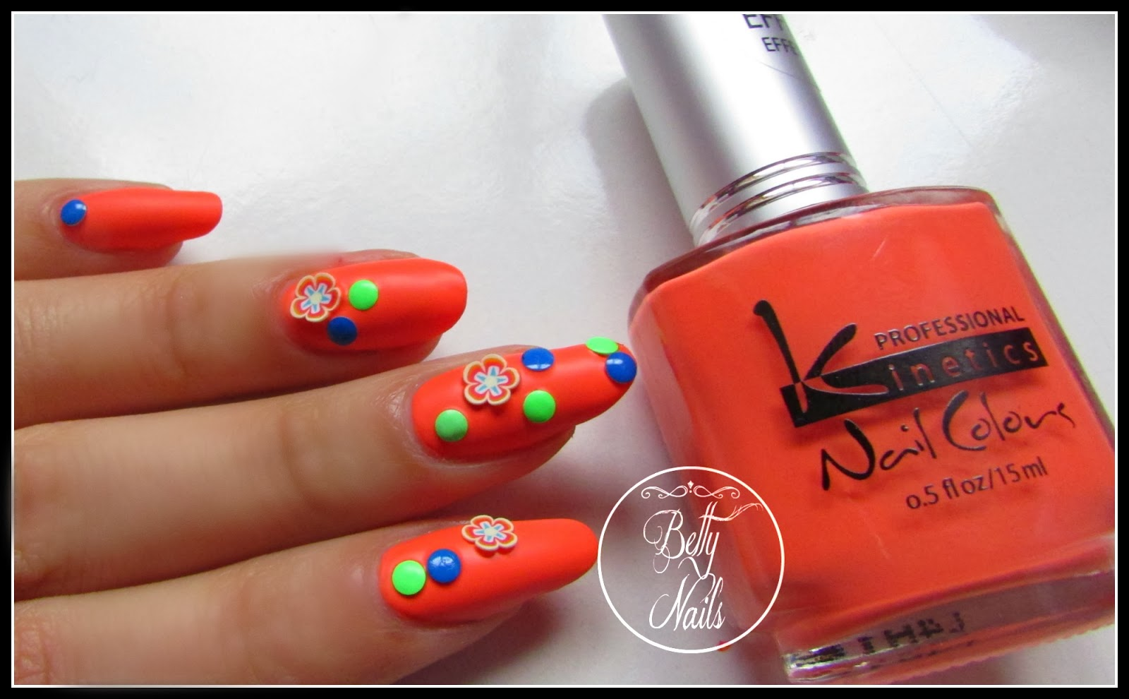 kinetics nails matte effect collection