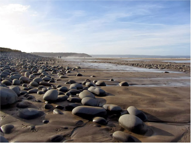 pebbles at Westward Ho!