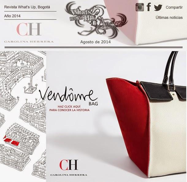 VENDÔME-nuevo-bolso-CH-Carolina-Herrera-inspira-París