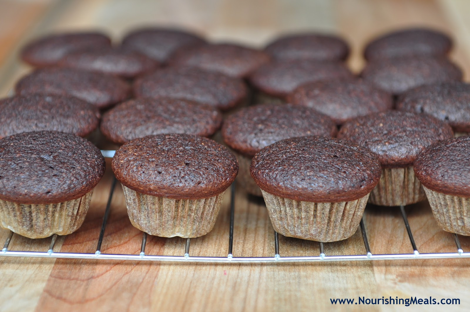 Nourishing Meals®: Chocolate Cupcakes with Creamy Yam Frosting ...