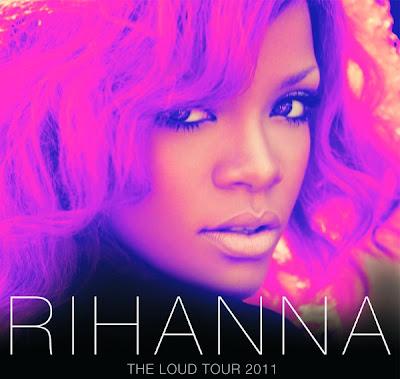 rihanna loud tour. Rihanna on her Loud Tour