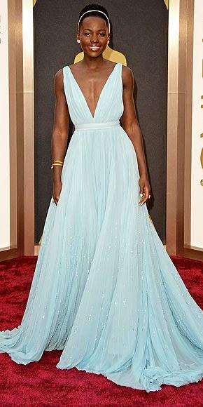2014 oscars, red carpet, oscars, Lupita Nyong'o