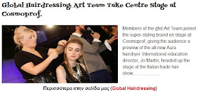 Art Team Take Centre Stage at Cosmoprof.