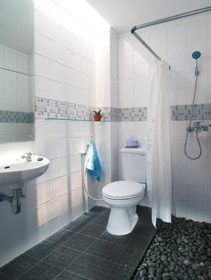 simple bathroom floor interior designs