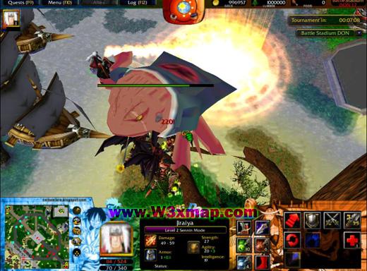 Map BattleStadium DON 18b Dragon Ball One Piece Naruto