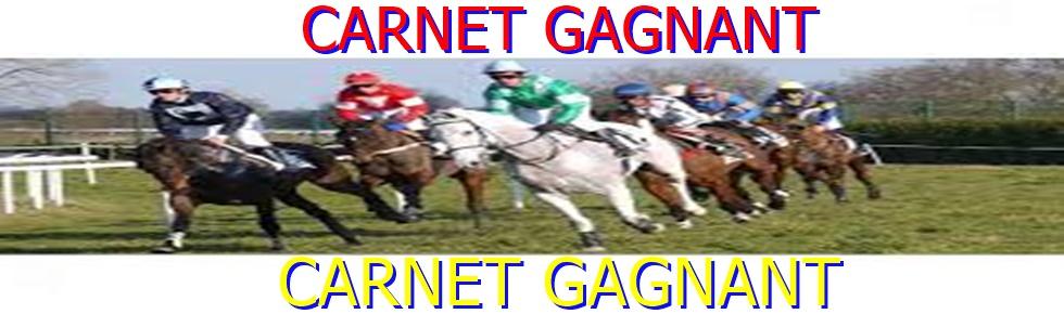 CARNET GAGNANT