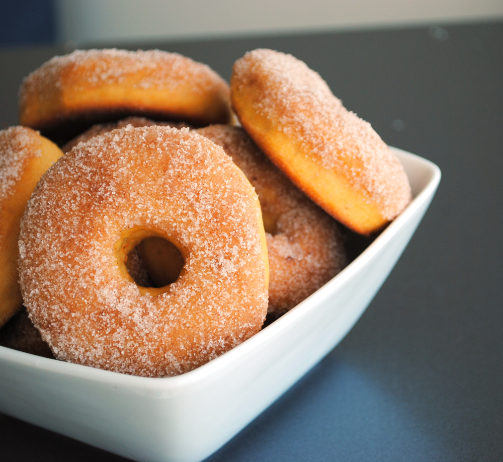 Leanne bakes: Spiced Sweet Potato Donuts