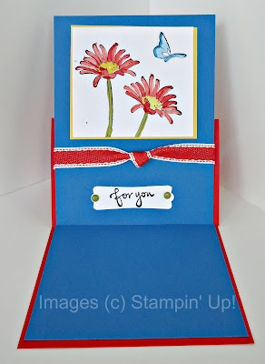 Easel card for Every Moment stamp set by Stampin' Up!