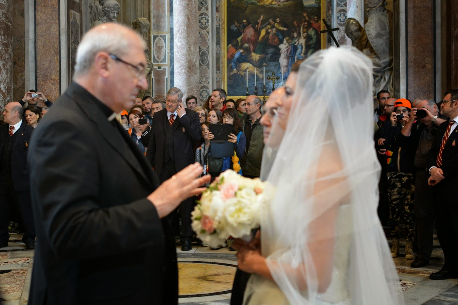 wedding at st peter's basilica vatican city