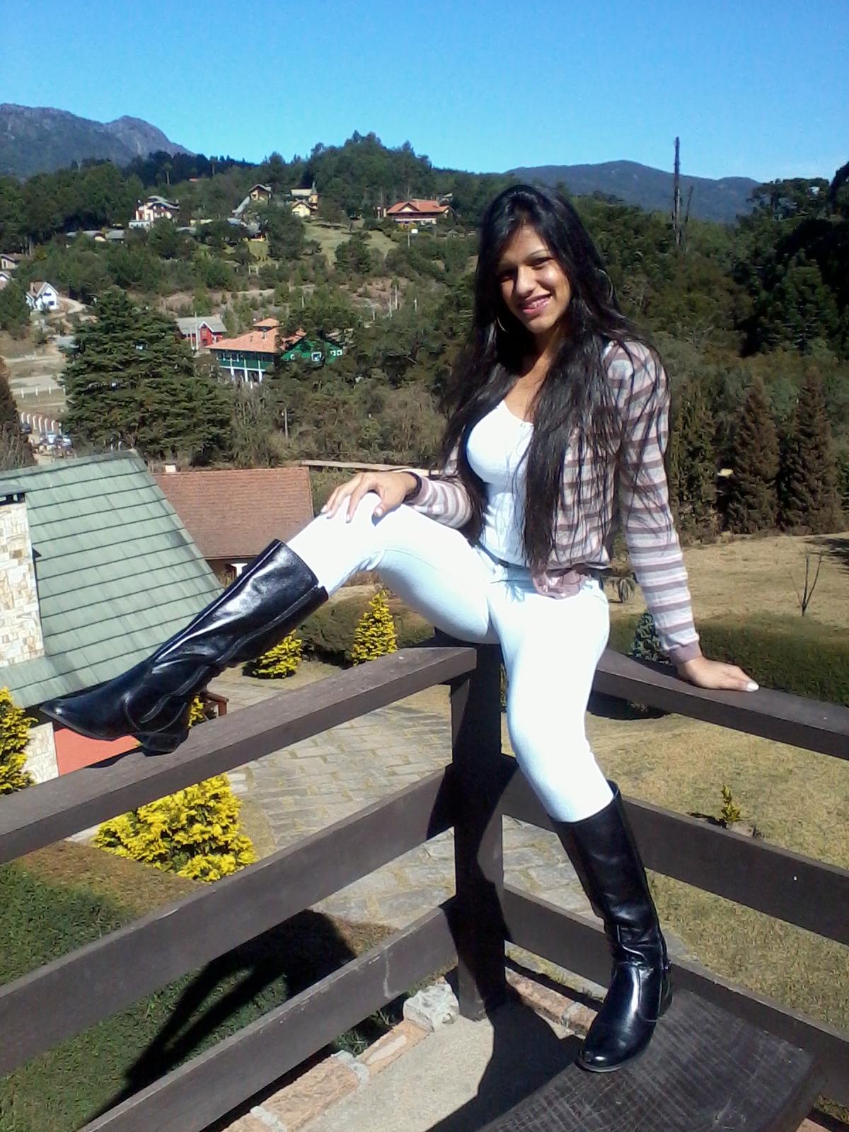 Eu em Monte Verde em MG
