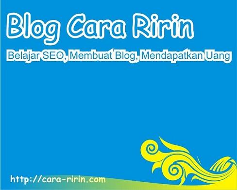 Program Afiliasi Terbaik dan Terpercaya Blog Cara Ririn