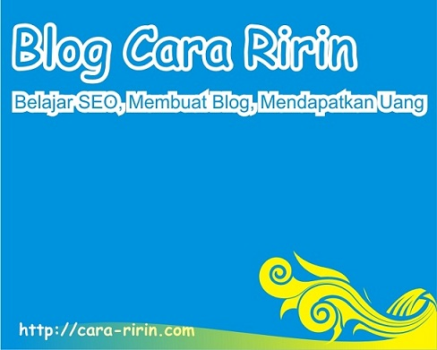 Blog Cara Ririn