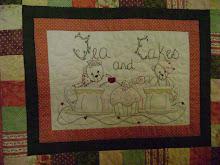 """""""TEA & CAKES"""" quilt $16.50"""