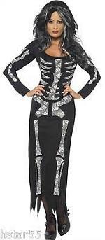 Skeleton Bones Dress for Women