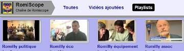 Les Vidéos de Romiscope