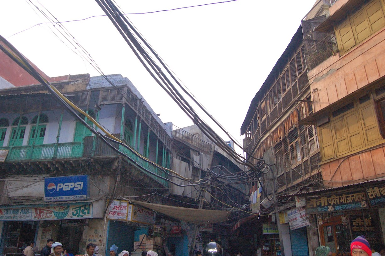 Electric wiring in India