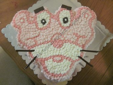 Pink Panther whipped cream