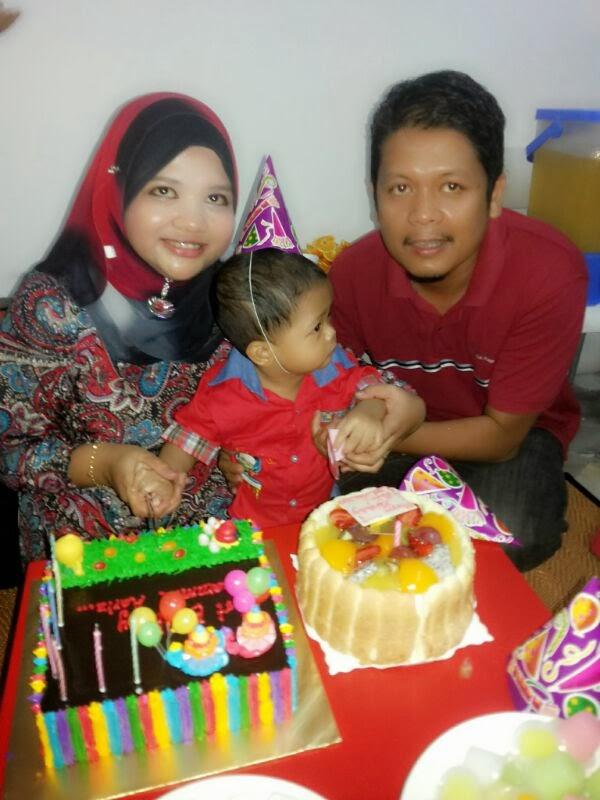 Aariz 1st birthday