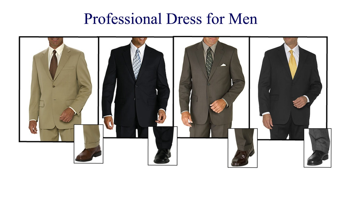 formal professional dress code