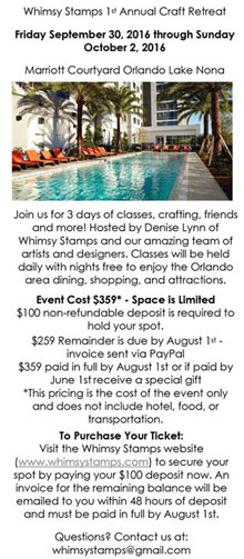 Whimsy 1st Annual Craft Retreat