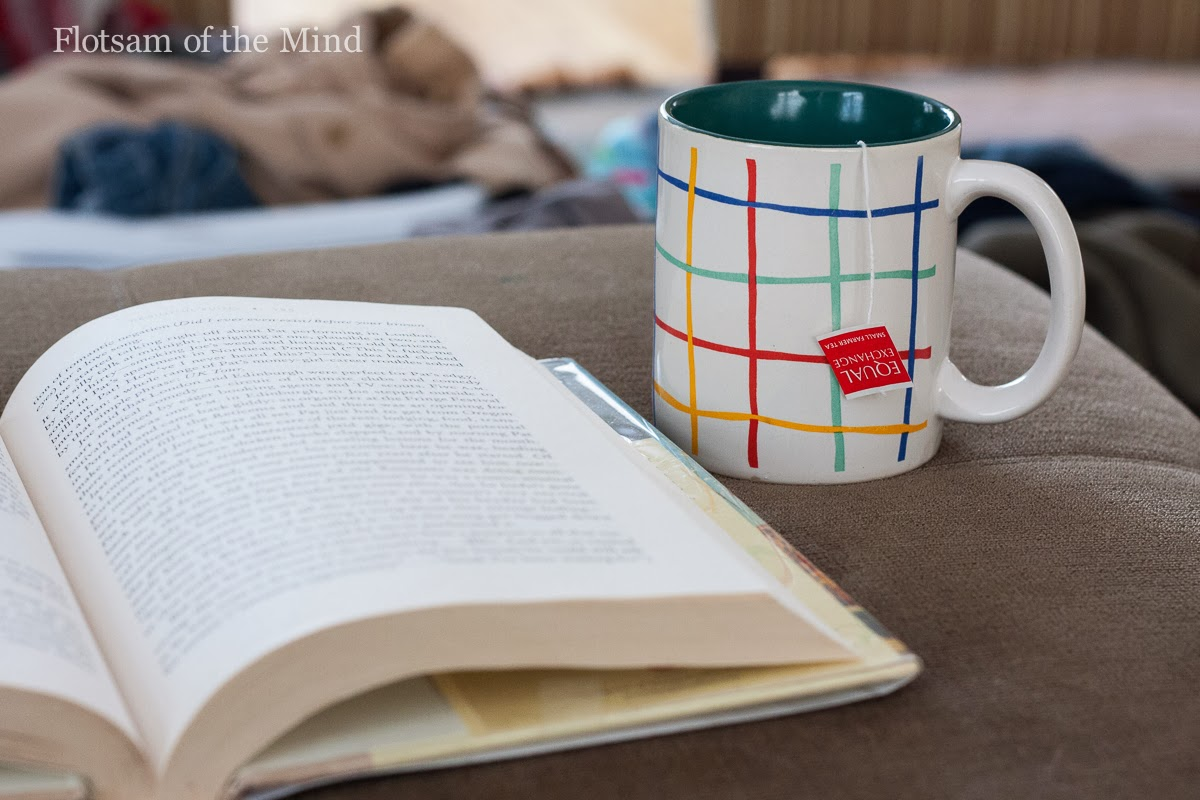 Book and Tea - Flotsam of the Mind