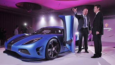 Koenigsegg Agera kereta paling laju dan paling mahal di Singapura