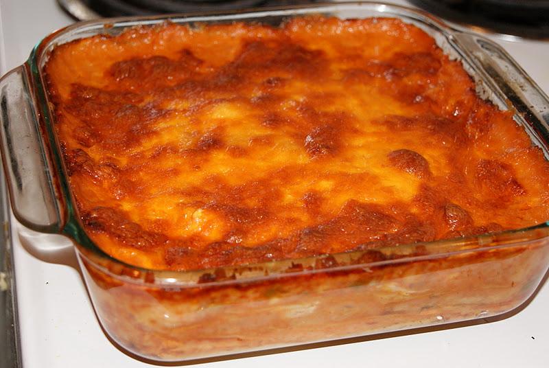 Delight's Bites: Chicken Enchilada Casserole