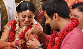 Sneha and Prasanna Engagement Photos